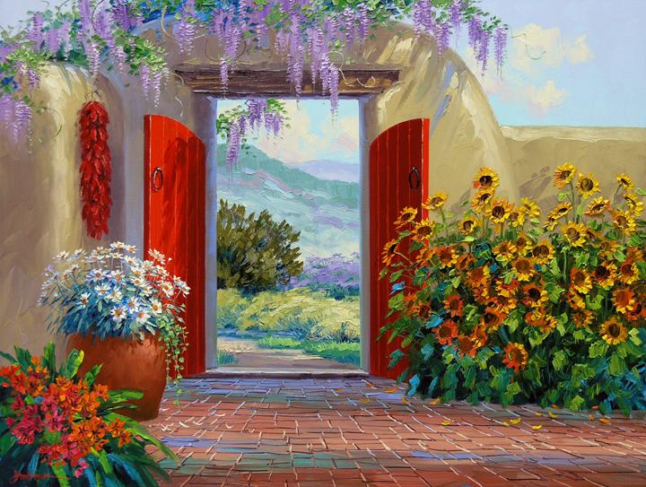 Beyond The Garden Gate Mikki Senkarik