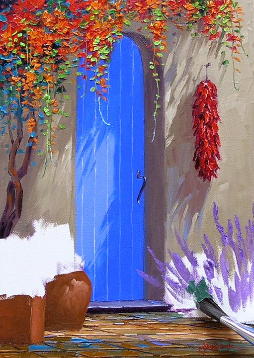 Paint Nite Red Door