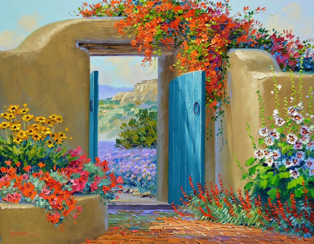 Colorful Embrace 20″ x 24″ Original Oil Painting