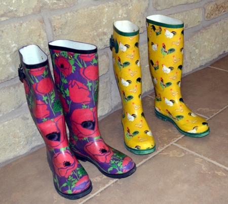 Garden boots 1
