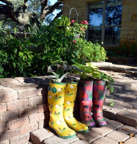 Garden boots 7A