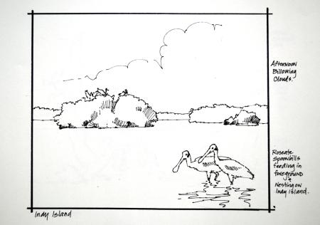 Sketch KO Indy Island