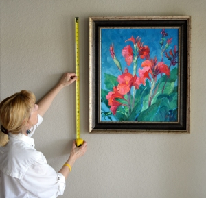 SG9510 Captivating Canna Lilies measure tape