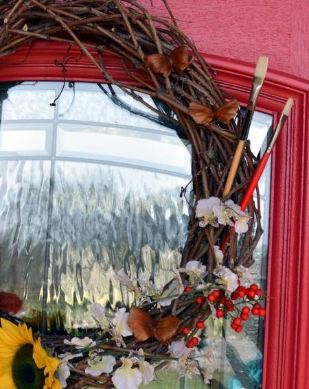 2013-2-22 wreath closeup