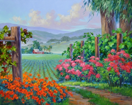 SB1013 Allure of Napa Valley 24x30