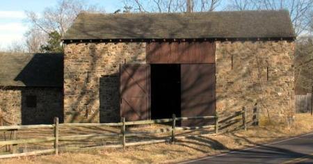 Washington Crossing barn 2 close up