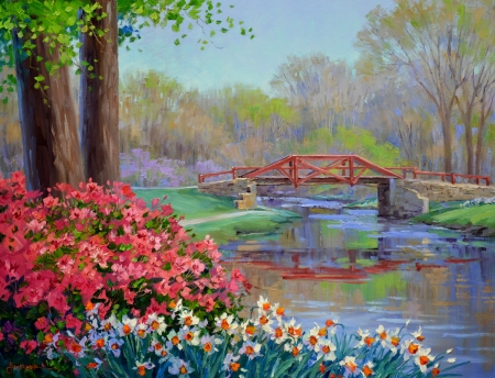 SD1913 A Kiss of Spring 24x30