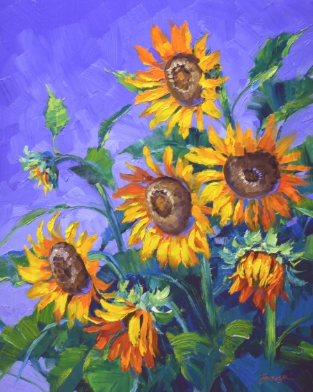 SE2613 Bursting with Sunshine 24x20