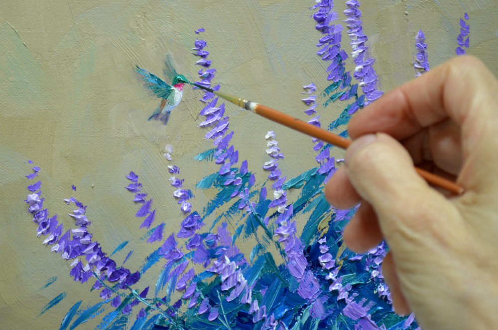 Expression of beauty mikki senkarik for How to paint watercolor flowers step by step