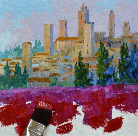 eb SG3913 San Gimignano Towers step 4