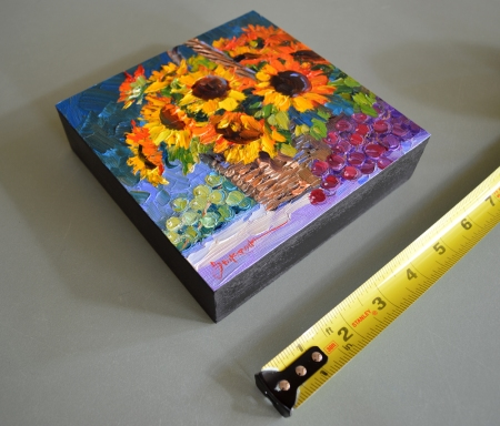eb SG4413 Bountiful Harvest with ruler