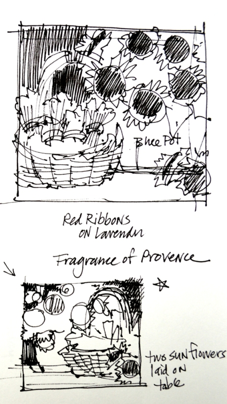 eb SG5113 Fragrance of Provence Step 1