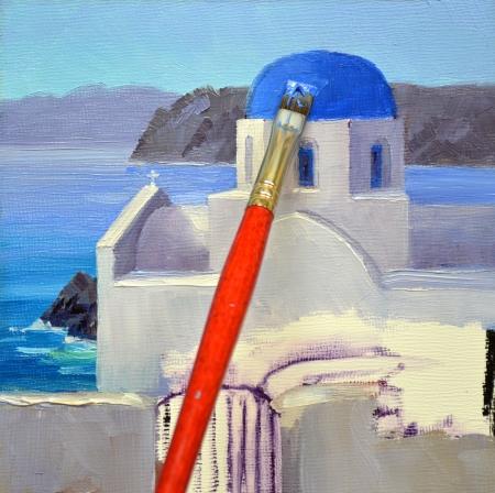 eb SH6203 Shimmering Santorini Step 2
