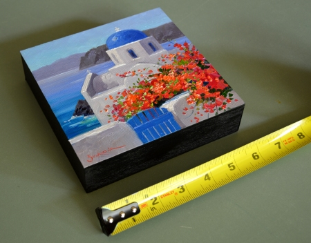 eb SH6203 Shimmering Santorini with tape