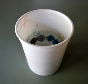 Paint in cup 1