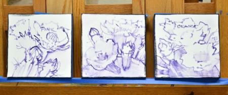 SJ9913-SJ10012-SJ10113 sketched on canvas