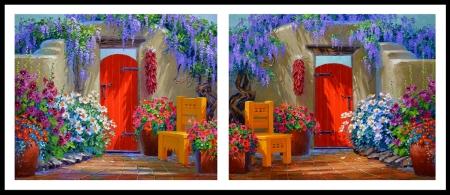 SK11013 Magic of the Matilijas-Colorful Celebration BORDER