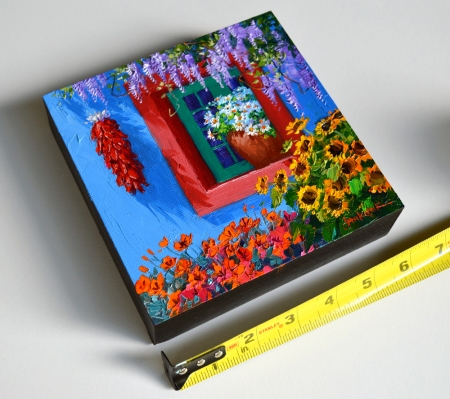 SK11513 Boisterous Garden 6x6 with tape
