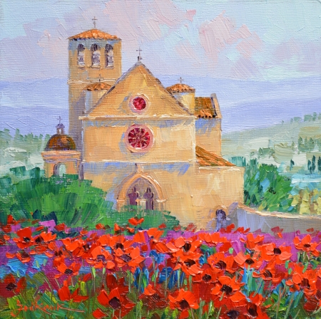 SK11613 Jewel of Assisi 6x6