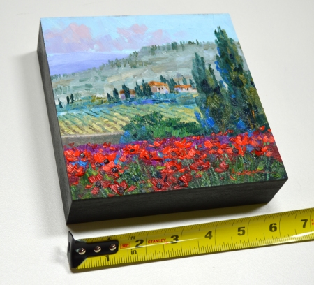 SK11713 Brilliance of Spring 6x6 with tape