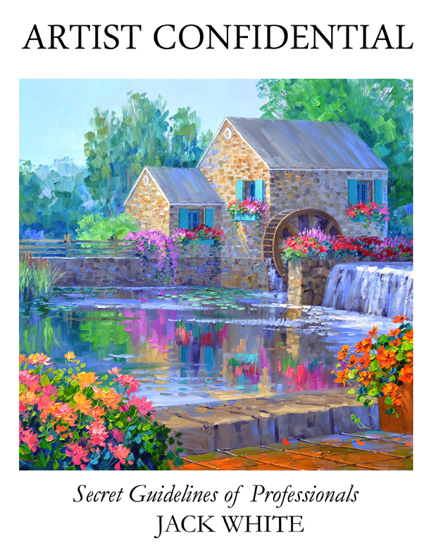 Artist Confidential Calming Waters COVER eBook version