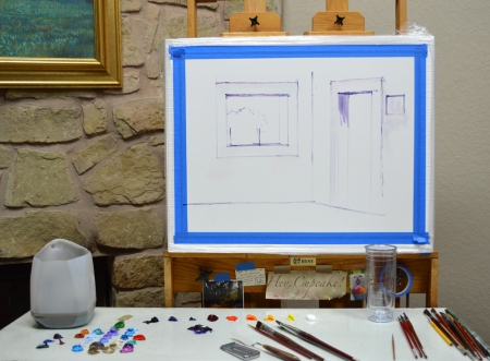 SL12513 Azul Courtyard Step 1
