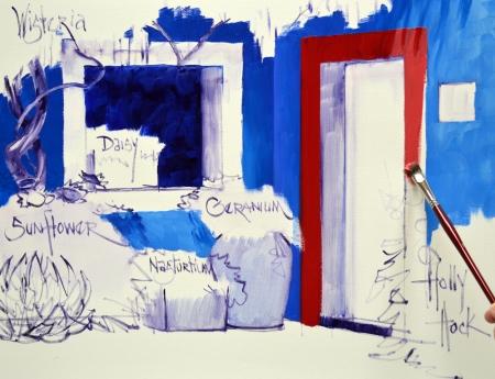 SL12513 Azul Courtyard Step 5