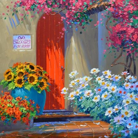 SL12913 A Medley of Color 10x10