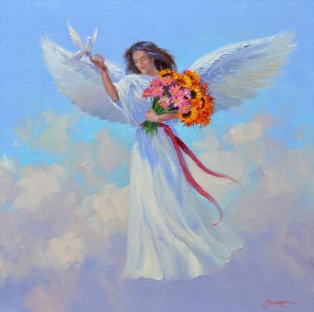 SL13213 Everlasting Joy 14x14