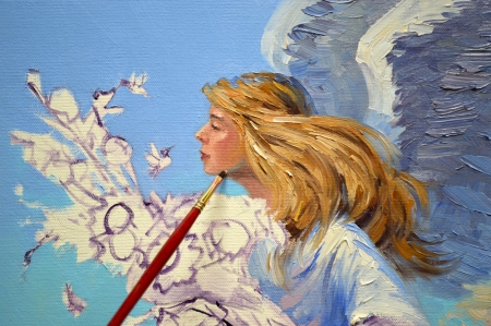 SA0114 Hummingbird Angel Step 3