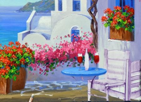 SA0614 Romance in Santorini Step 6