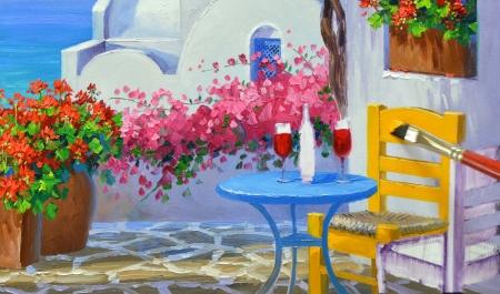 SA0614 Romance in Santorini Step 7