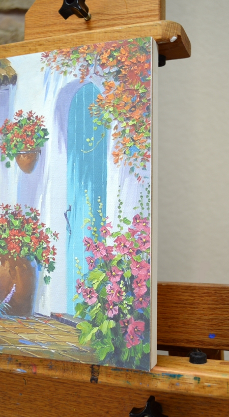 Kit D Floral Splendor side of panel