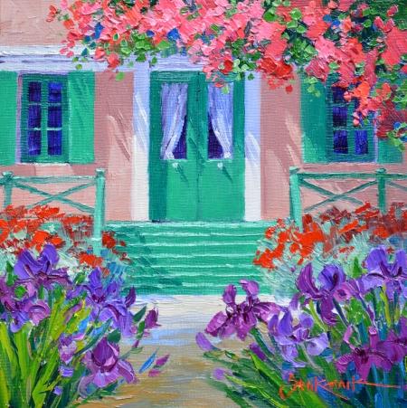 SB1414 La Maison de Monet 6x6