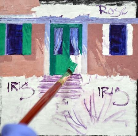SB1414 La Maison de Monet Step 2