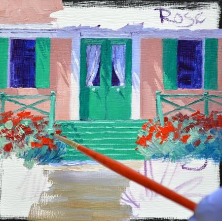 SB1414 La Maison de Monet Step 3