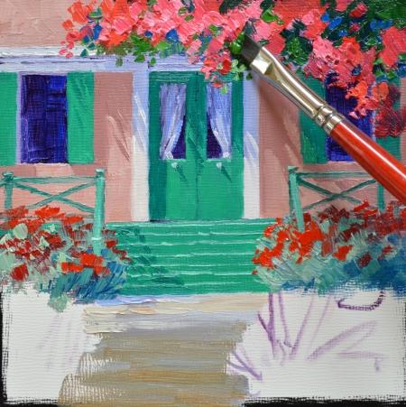 SB1414 La Maison de Monet Step 4