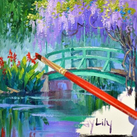 SB1514 Le Pont Japonais  Step 5