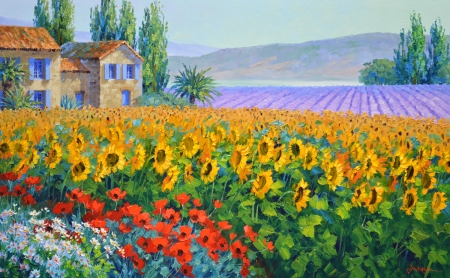 SB1914 Sunflower Serenade 24x36