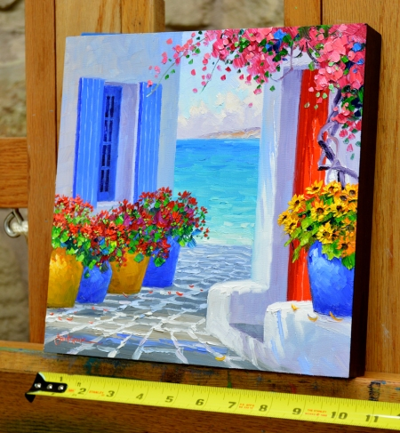 SD3614 Primary Colors of Mykonos 10x10 with tape