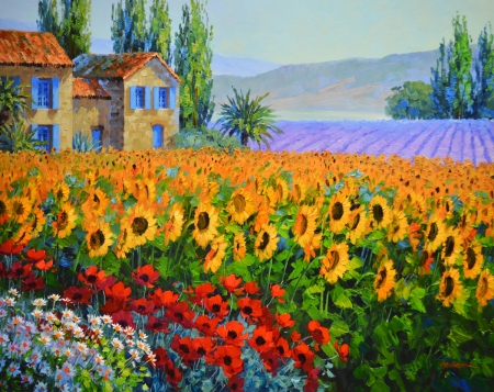 LO Sunflower Serenade 1-49 24x30