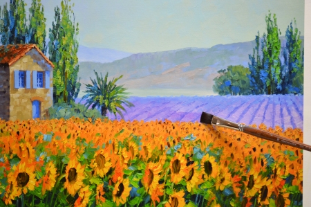LO Sunflower Serenade 1-49 step 2