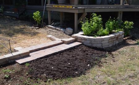 2014-8-5 Courtyard Steps 1