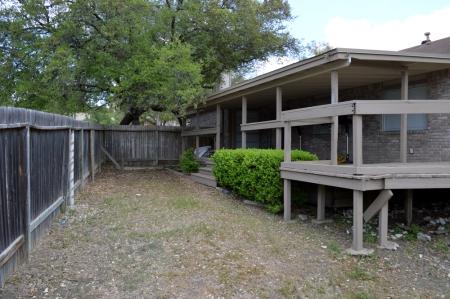 Back Courtyard area 2014-4-18