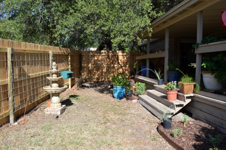 Back Courtyard area 2014-7-14