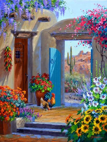 SI8214 Desert Retreat 24x18