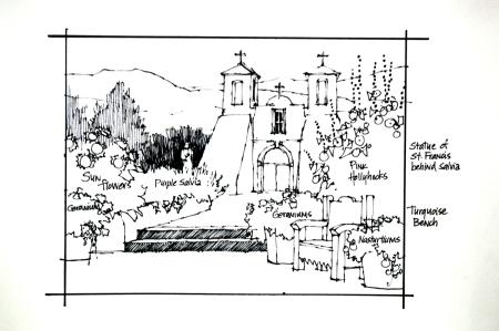Sketch Monica and Myron Smith
