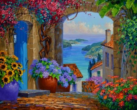 SA0115 Enchanting Vista 30x36