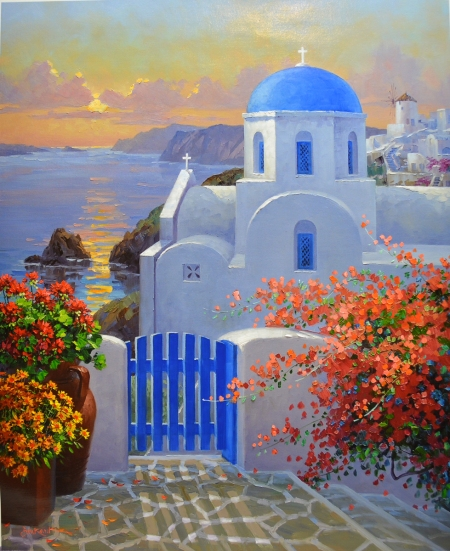 LO A Touch of Greece 1-49  30x24