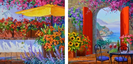 SA0415 Elegance of Romance - SJ8614 A Colorful Spot
